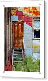 Door To The Past  St. Elmo Acrylic Print