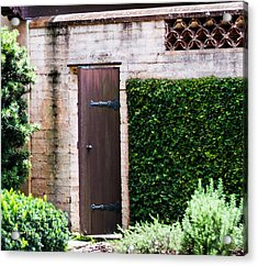 Door To The Past Acrylic Print by Susan Molnar