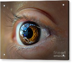 Door To The Soul Acrylic Print by Will Cardoso