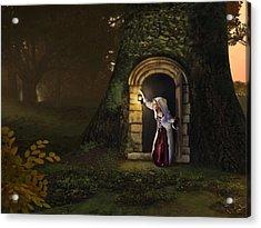 Door To The Underworld Acrylic Print