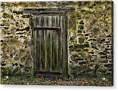 Door To Yesterday Acrylic Print