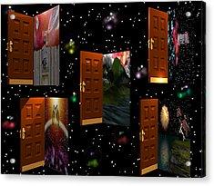 Door To Your Dreams Acrylic Print