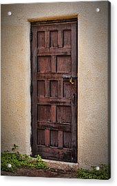 Door To Your Id ...  Acrylic Print by Chuck Caramella