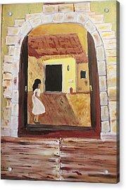 Door Within Acrylic Print