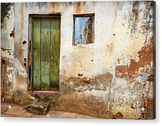 Doors And Windows Lencois Brazil 4 Acrylic Print by Bob Christopher