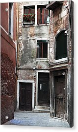 Doors Of All Sizes Acrylic Print by John Rizzuto