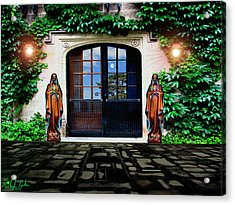 Doors Of Ivy Acrylic Print