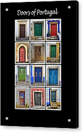 Doors Of Portugal Acrylic Print