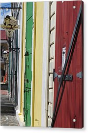 Doors Of St. Thomas Usvi  Acrylic Print by Jean Marie Maggi
