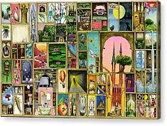 Doors Open Acrylic Print