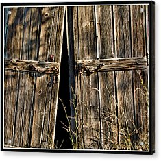 Acrylic Print featuring the photograph Doors by Ron Roberts