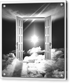 Doors To Paradise Acrylic Print by Stefano Senise