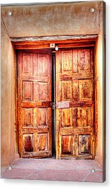 Doors To The Inner Santuario De Chimayo Acrylic Print