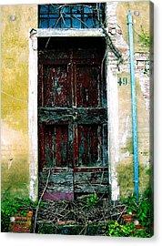 Doorway 49 Acrylic Print