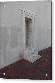 Doorway Aslant Acrylic Print