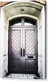 Doorway At Morris Avenue Acrylic Print by Shelby  Young