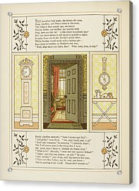 Doorway Into Room Acrylic Print by British Library
