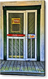 Doorway To The Past Acrylic Print by Kenny Francis