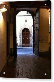 Doorways In Italy Acrylic Print