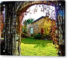 Doorways Acrylic Print