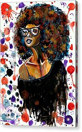 Dope Chic Acrylic Print by RiA RiA