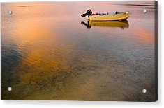 Acrylic Print featuring the photograph Dorato by Sandro Rossi