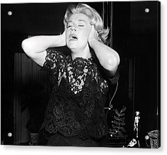 Doris Day In Midnight Lace  Acrylic Print by Silver Screen