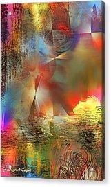 Dormeur Acrylic Print by Francoise Dugourd-Caput