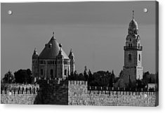 Dormition Abbey Acrylic Print by Amr Miqdadi