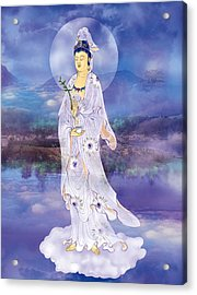 Acrylic Print featuring the photograph Doro Guanyin by Lanjee Chee