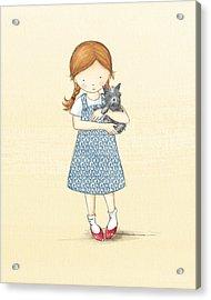Dorothy Acrylic Print by Amanda Francey