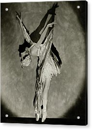 Dorothy Dilley In The Butterfly Dance Acrylic Print by Nickolas Muray