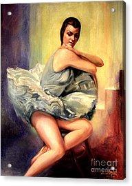 Dorothy Littlefied Acrylic Print