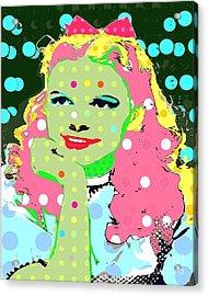 Dorothy Acrylic Print by Ricky Sencion