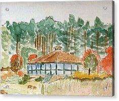 Dorrs Pondhouse Acrylic Print
