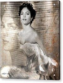 Dorthy Dandridge Acrylic Print by Lynda Payton