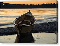 Dory At Dawn Acrylic Print by Marty Saccone
