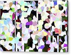 Dotted Car -part 1 Acrylic Print