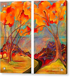 Double Arbor Acrylic Print