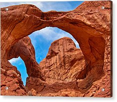 Double Arch Goodness Acrylic Print