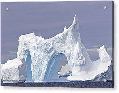 Double Arch Iceberg Acrylic Print by M. Watson