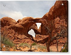 Double Arch In Arches Np Acrylic Print