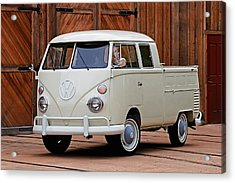 Double Cab Acrylic Print by Peter Tellone