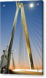 Double Diamonds At Sunset Acrylic Print by Andrew Crispi