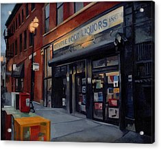 Double Door Wicker Park Bucktown Chicago Acrylic Print