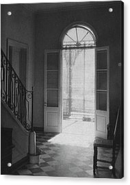 Double Doors In The Home Of Dr. Joseph Weis Acrylic Print by Raymond Bret-Koch