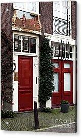 Double Dutch Red Acrylic Print