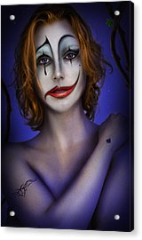 Double Face Acrylic Print by Alessandro Della Pietra