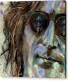 Double Fantasy Acrylic Print by Paul Lovering