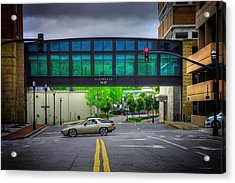 Acrylic Print featuring the photograph Double Line by Dennis Baswell